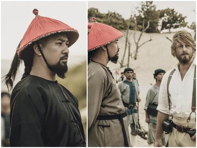 黃健瑋飾演清朝總兵。公視提供