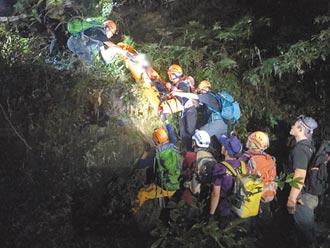 27登山客受困北插天山 11小時後獲救