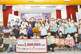 嘉義家扶送暖 助669名學子迎開學
