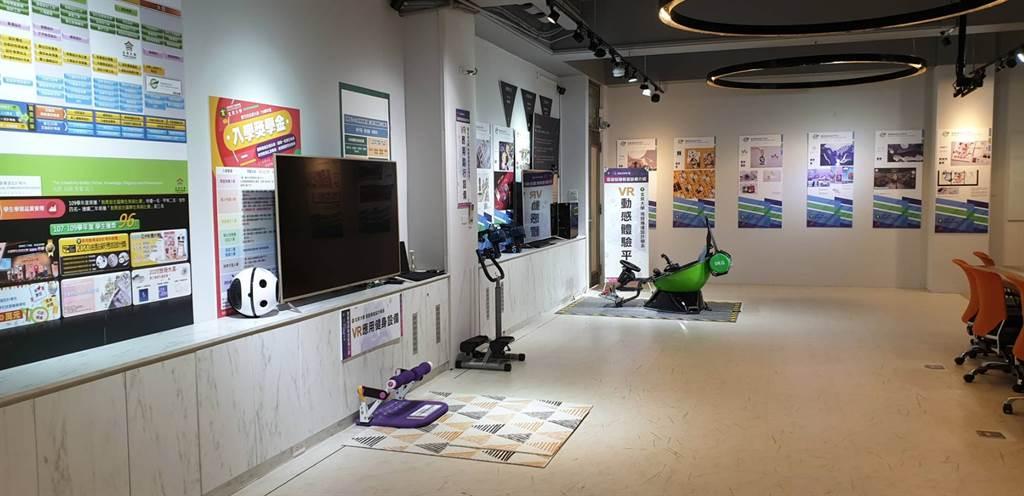 玄奘大學視傳系XR先進專業特色教室提供全校師生學習新興科技的良好環境。(玄奘大學提供)