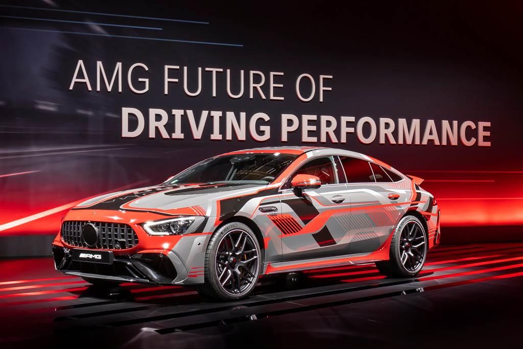 今年三月AMG以E Performance之名,對外公開未來AMG車款的動力規劃。(圖/Mercedes-AMG提供)
