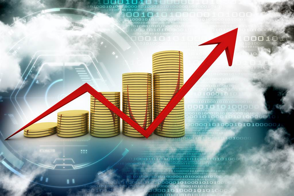 台股今(30日)在電子權值股與金融股聯手下收在17396點,大漲186點,網友表示,存金融股的講話可以大聲了。(示意圖/達志影像)