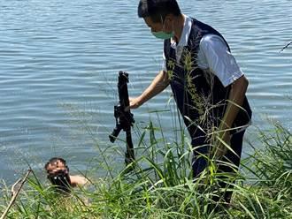 台南安定槍擊案主嫌落網 魚塭起出涉案槍枝