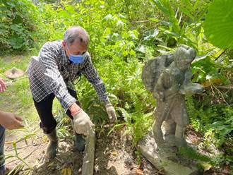 友人工地撿石雕相贈 男隨便放永和橋下 女兒曝驚人背景後傻了