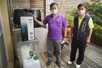 防疫一起來 台中民代免費供應次氯酸水