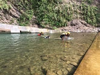 桃園復興溪邊戲水 16歲少年沉3米深潭溺斃
