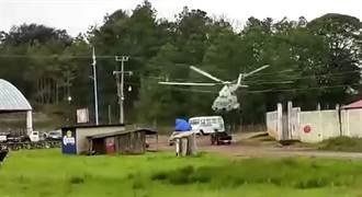 墨西哥海軍Mi-17直升機 起飛失控與公車擦撞墜毀