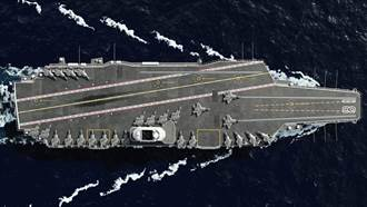 陸003航母最新進度照片曝光 對比全球航母網民關注尺寸