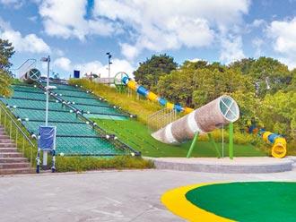 暖暖運動公園 12歲以下只能盪鞦韆
