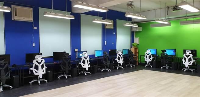玄奘大學視傳系XR研發中心提供學生進行科技專題開發的專業實驗環境。(玄奘大學提供)