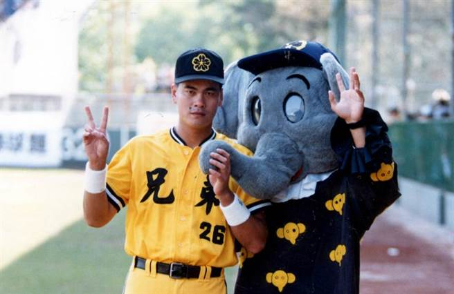 1993年的王光輝。他在1992年助隊打下空前的金冠軍。(報系資料照)