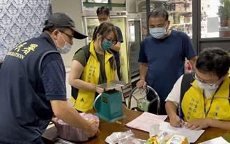 新竹縣新豐鄉某越南小吃店販售可疑豬肉製品 移民署稽查查獲4公斤