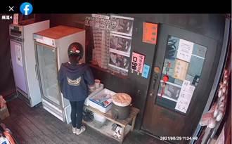 馬尾妹到愛心站搬2箱罐頭、17個便當 影片曝光網全怒了