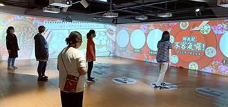 漫畫家繪製客家美食躍上展示牆 與民眾趣味互動