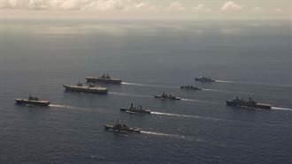 影》陸面臨大軍壓境 5國2航艦6特遣艦隊集結太平洋