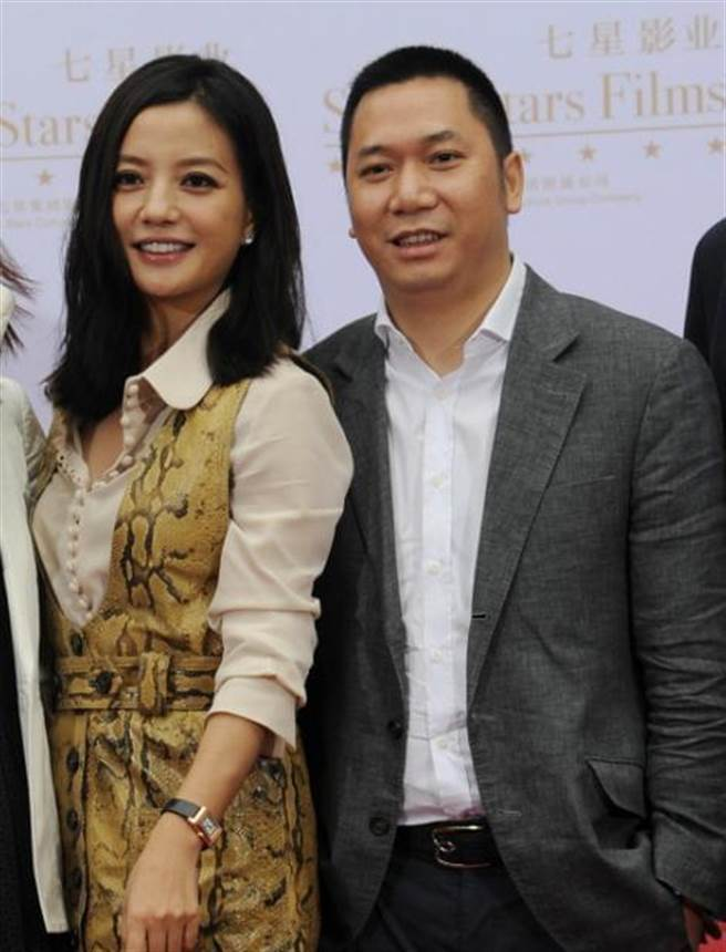 趙薇與她的丈夫黃有龍(圖)名下有數十家企業,其中有極大部份是與馬雲企業交叉持股。(圖/微博)