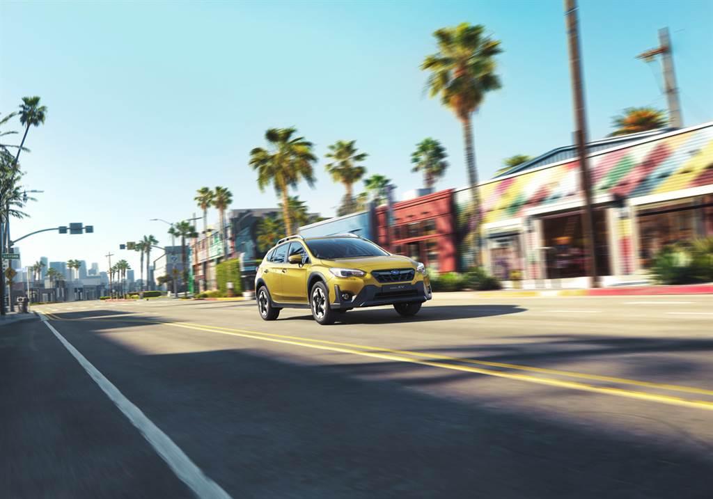 同級最強跨界休旅SUBARU XV i-S EyeSight車款,以限量100台優惠價98.8萬元強勢回饋消費者。(圖/業者提供)