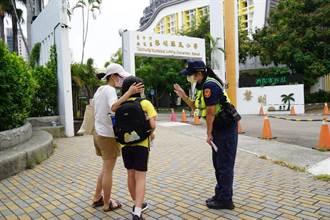 開學了 中市警發送客製口罩防疫兼護童