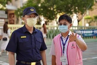開學首日 蘆洲警執行護童專案加強交通疏導