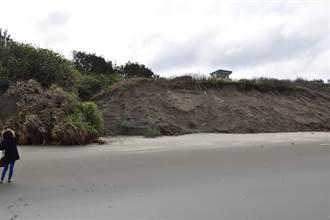 苗栗縣竹南鎮假日之森 木棧道封閉整修邊坡