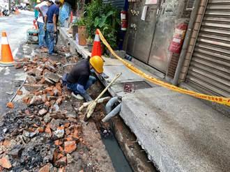 中和國光街下水道四合一工法 改善500戶居住環境
