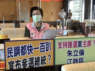 市議員質詢市長會不會連任或選總統 盧秀燕:上班備詢不談黨務跟選舉
