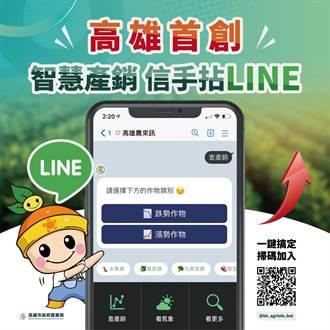 高雄智慧農業再進化 首創智慧農業產銷資訊信手拈Line