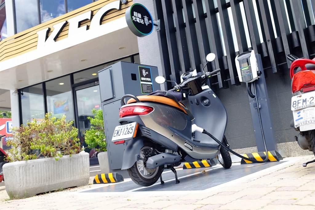 iE125購車折13000元,再送輕巧充電器。(圖/業者提供)