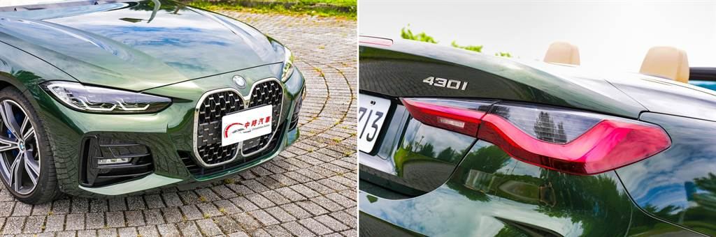 車頭巨大「雙腎」型水箱護罩越看越順眼,搭配與老大哥8系列相仿的頭尾燈造型,為新世代BMW的跑車系的一大特色。(圖/陳彥文攝)