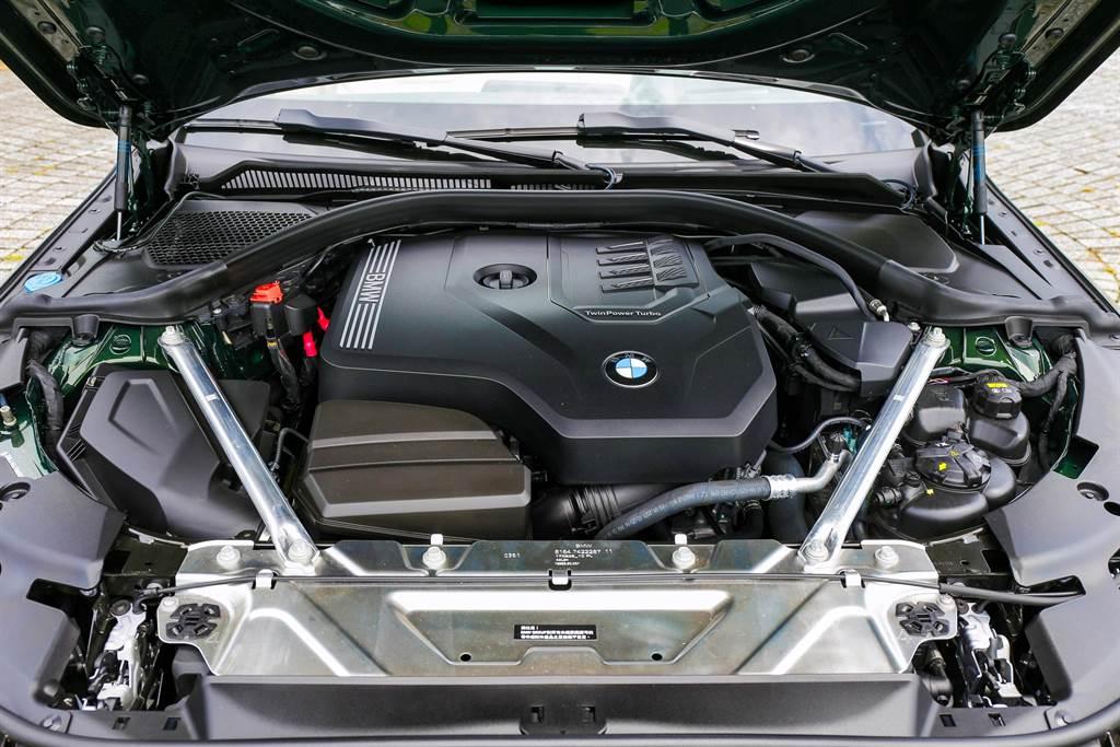 引擎搭載BMW集團中運用廣泛的B48 2.0L引擎,擁有258hp最大馬力。(圖/陳彥文攝)
