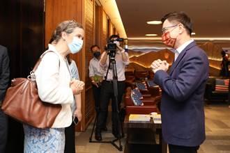 AIT孫曉雅訪黃志芳 貿協擬首在美辦台灣形象展