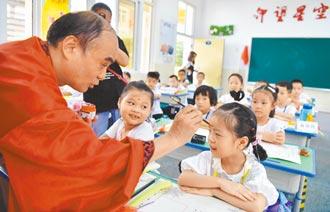 開學日 北京學校掃健康綠碼