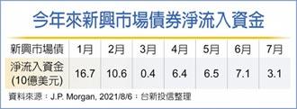 台新:短天期新興債 布局首選