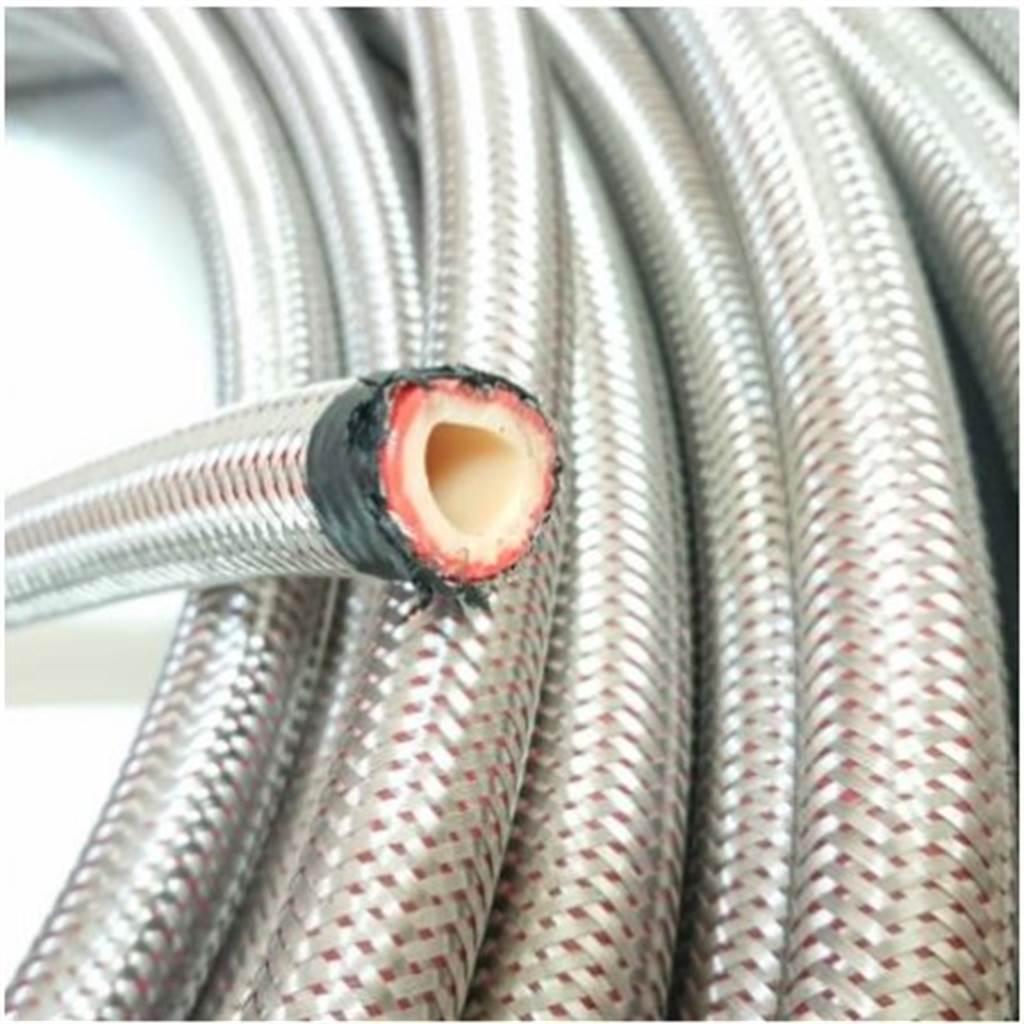 瓦斯軟管如需更換,可盡量選擇有CNS認證的鋼絲軟管。(圖片來源/蝦皮購物)