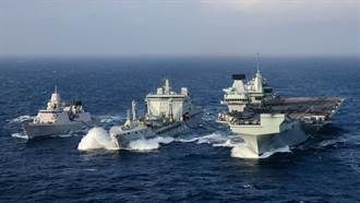 航艦打擊群遠洋能力不足 英國急忙補救