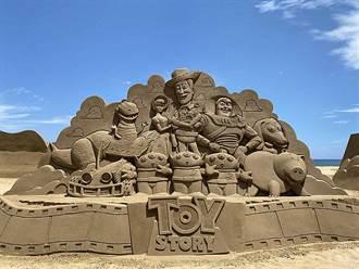 2021福隆國際沙雕藝術季中秋開展 邀您重溫皮克斯經典