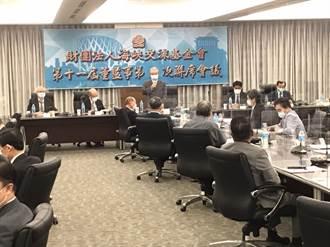 許勝雄:兩岸對話協商 需透過雙方政府授權的管道