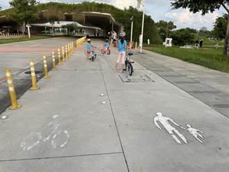 中央公園占地大 中市議員籲增園區內自行車道