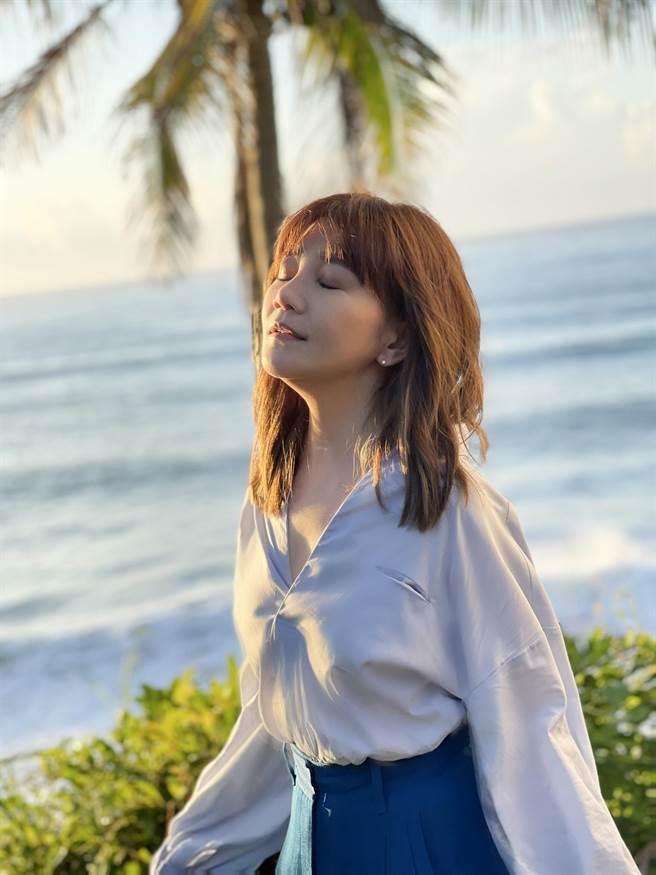 梁靜茹新歌MV赴台東取景。(Vocalist Music提供)