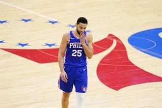 NBA》顧人怨?費城媒體嘲諷班西蒙斯像漂走的垃圾桶