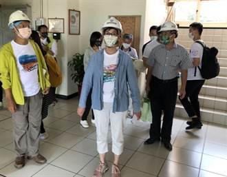民眾黨全國4大公投宣講 蔡壁如首站走訪金門電廠