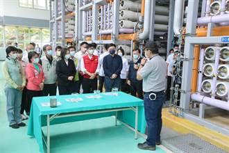 蔡英文視察鳳山水資源中心 支持高雄2座再生水廠計畫