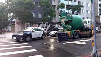 北市死亡車禍!行人遭混泥預拌車輾過 當場傷重不治