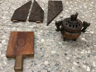 台南板模工闖老宅偷木料 連紅龜粿模具也不放過
