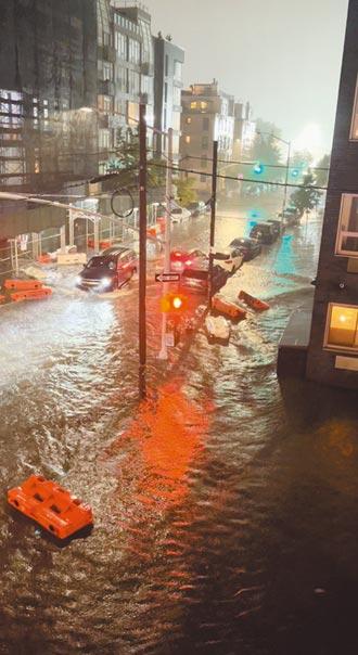 紐約500年一遇暴雨 艾達襲美釀61死