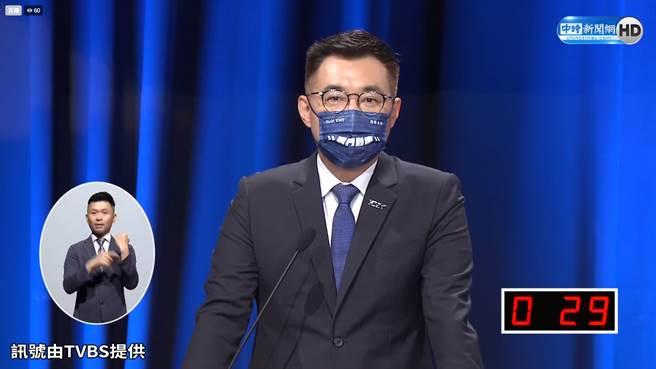 國民黨黨主席 江啟臣。(圖/中時新聞網)