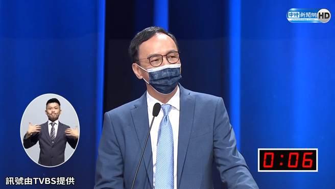 國民黨主席參選人 朱立倫。(圖/中時新聞網)