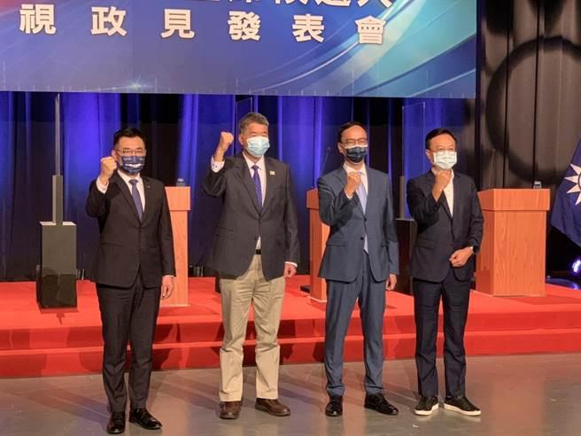 國民黨主席選舉電視辯論會。(民眾提供)