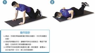 預約健康-跪姿伏地挺身 女孩兒練起來 美胸鍛鍊計畫