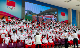 中國東奧乒乓、跳水國家隊等46名選手獲頒全國五一勞動獎